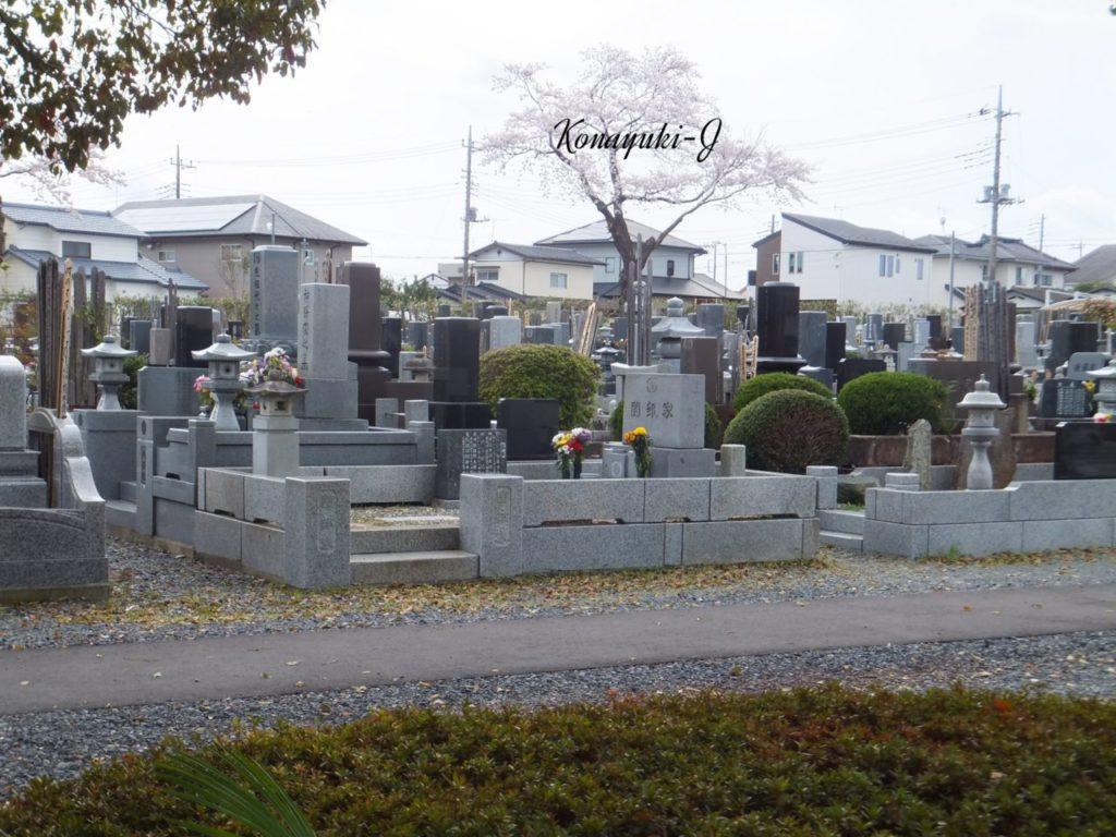 水戸市堀町公園墓地