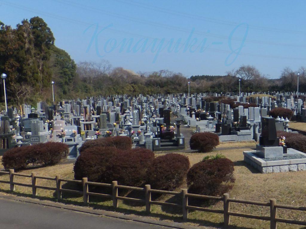 ひたちなか市営高野墓地 画像3